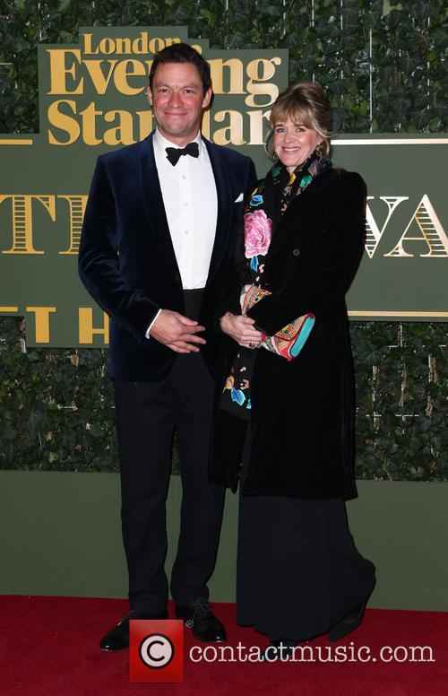 Dominic West and Catherine Fitzgerald 2