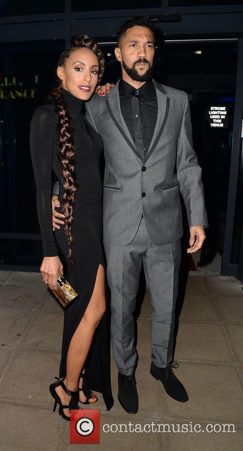 Gael Clichy and Charlene Suric 1