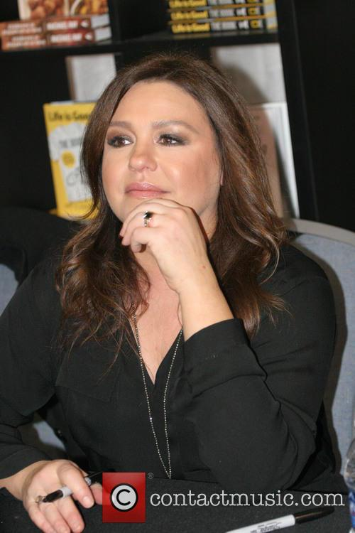 Rachael Ray signs copies of her new book