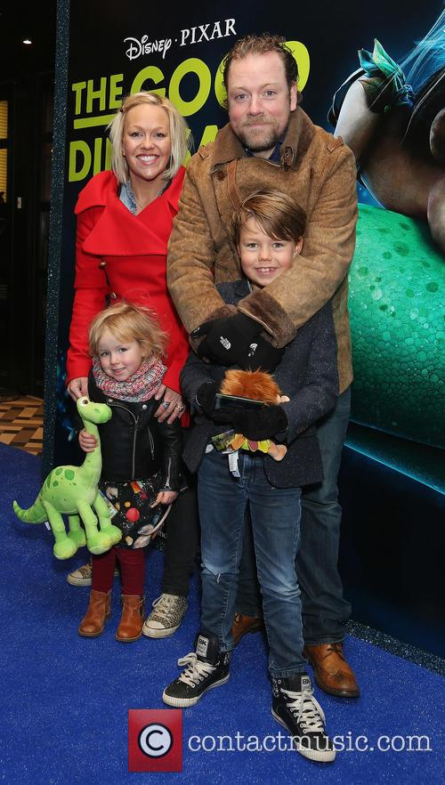 Rufus Hound, Beth Johnson, Alby Hound and Hilda Hound 1