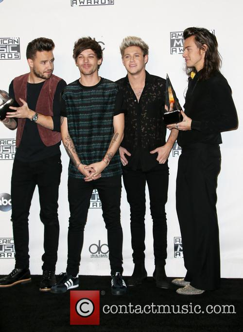 Liam Payne, Louis Tomlinson, Niall Horan, Harry Styles and Of One Direction 2
