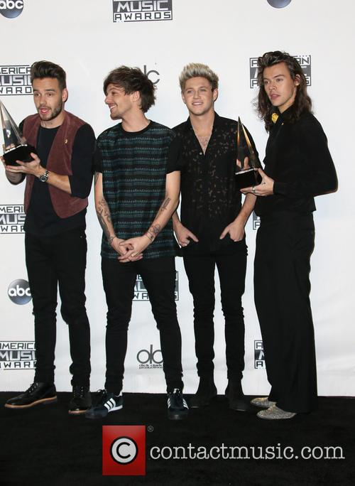 Liam Payne, Louis Tomlinson, Niall Horan, Harry Styles and Of One Direction 3