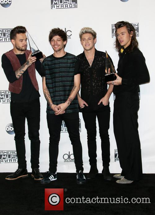 Liam Payne, Louis Tomlinson, Niall Horan, Harry Styles and Of One Direction 4