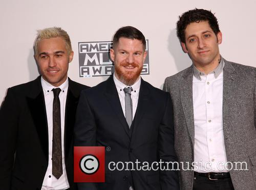 Pete Wentz, Andy Hurley, Joe Trohman and Fall Out Boy 2