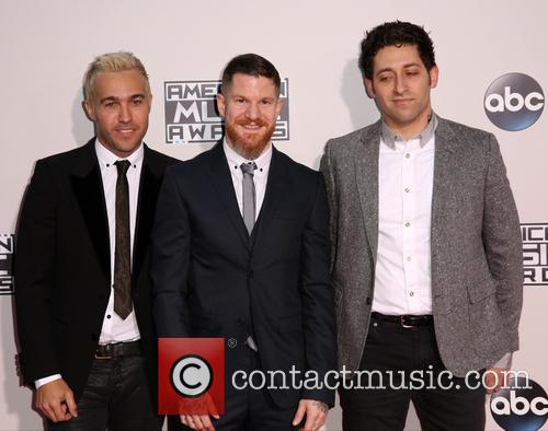 Pete Wentz, Andy Hurley, Joe Trohman and Fall Out Boy 4