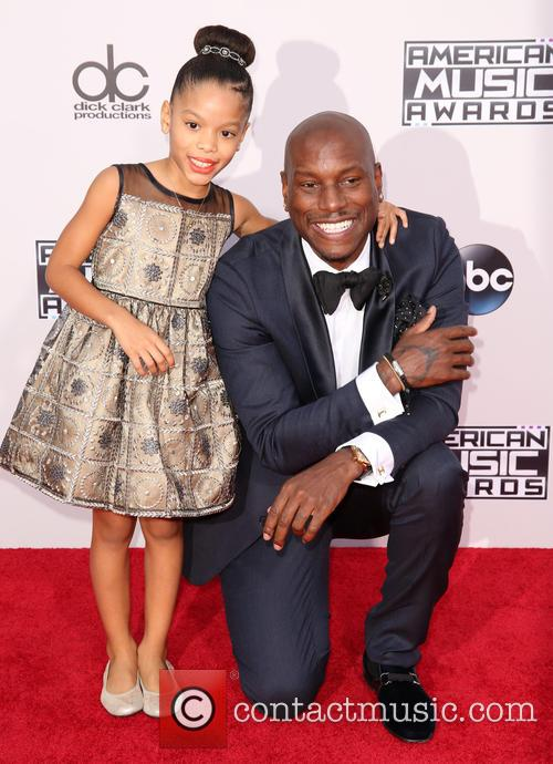Shayla Somer Gibson and Tyrese Gibson 1