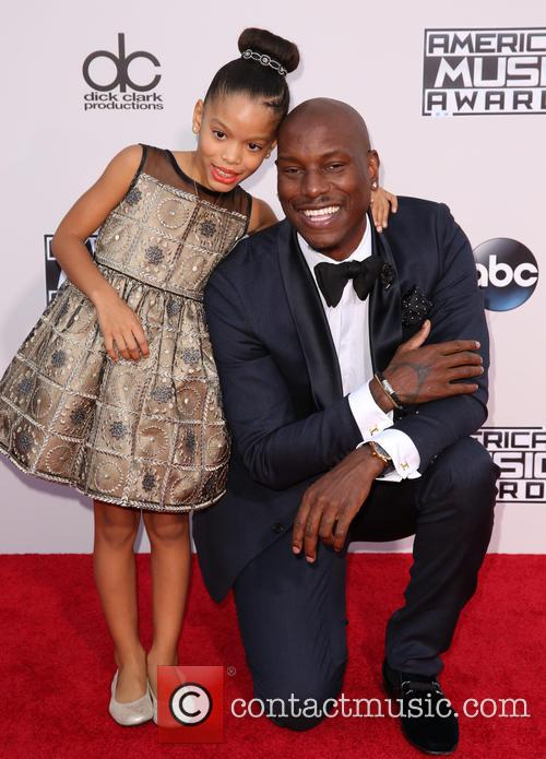Shayla Somer Gibson and Tyrese Gibson 2