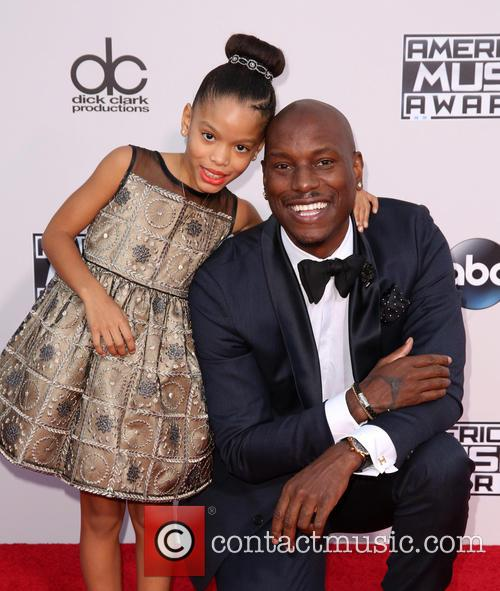 Shayla Somer Gibson and Tyrese Gibson 3