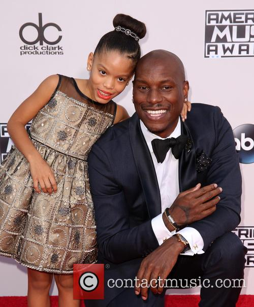 Shayla Somer Gibson and Tyrese Gibson 4