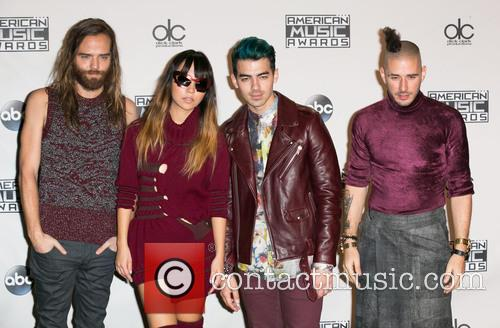 Jack Lawless, Jinjoo Lee, Joe Jonas, Cole Whittle and Dnce 2