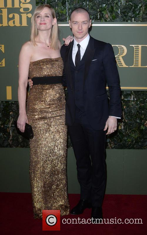 James Mcavoy and Ann Marie Duff 1