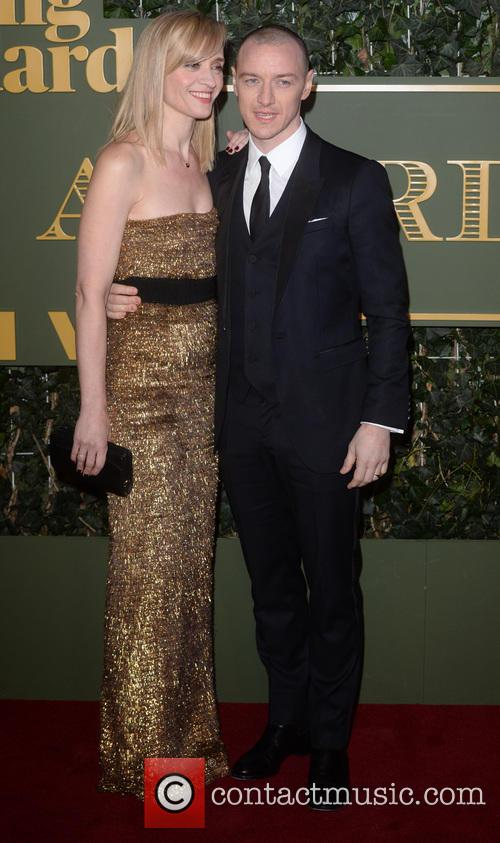 James Mcavoy and Ann Marie Duff 2