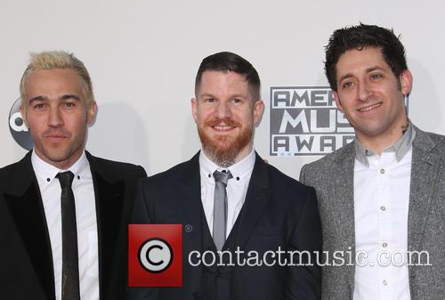 Pete Wentz, Andy Hurley and Joe Trohman 4