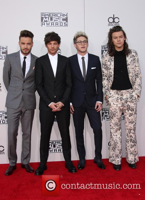 Liam Payne, Louis Tomlinson, Niall Horan and Harry Styles 4