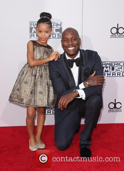 Tyrese Gibson and Shayla Somer Gibson 6