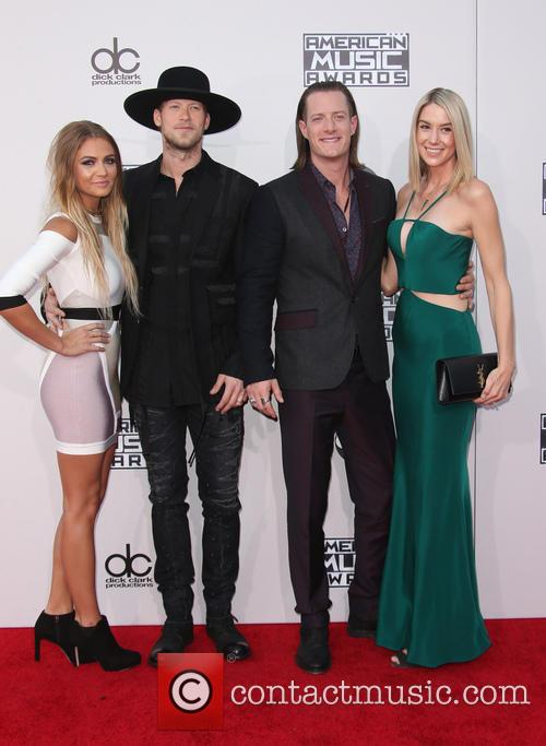Brittney Marie Cole, Brian Kelley, Tyler Hubbard and Hayley Stommel 2