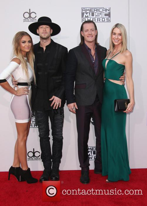 Brittney Marie Cole, Brian Kelley, Tyler Hubbard and Hayley Stommel 3