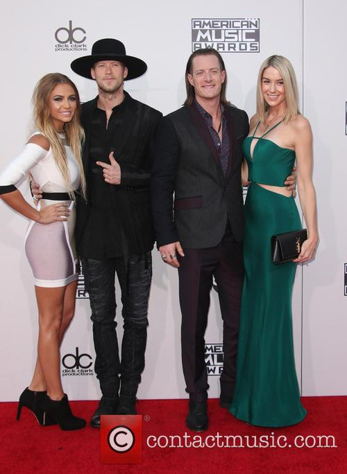 Brittney Marie Cole, Brian Kelley, Tyler Hubbard and Hayley Stommel 4
