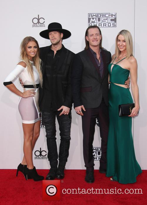 Brittney Marie Cole, Brian Kelley, Tyler Hubbard and Hayley Stommel 7