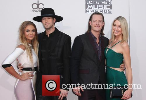 Brittney Marie Cole, Brian Kelley, Tyler Hubbard and Hayley Stommel 8