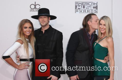 Brittney Marie Cole, Brian Kelley, Tyler Hubbard and Hayley Stommel 9