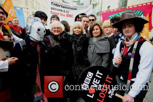 Dr Who, Katy Manning and Fans 3