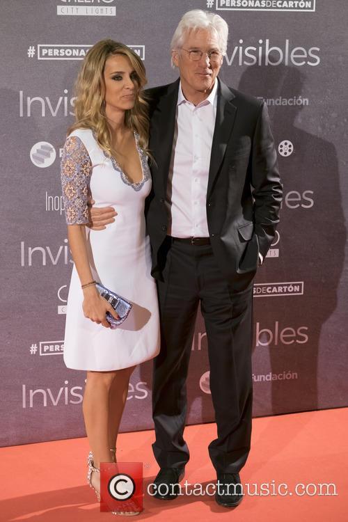 Richard Gere and Alejandra Silva 1
