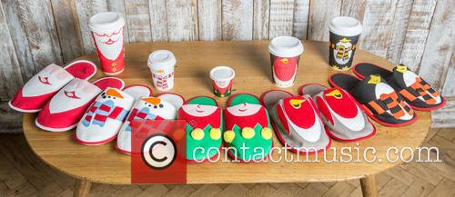 Costa Christmas Slippers 1