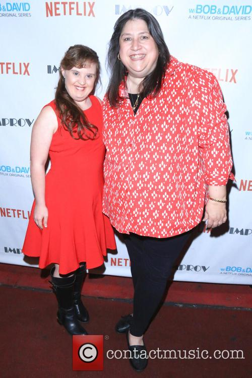 Jamie Brewer and Sheena Metal 1