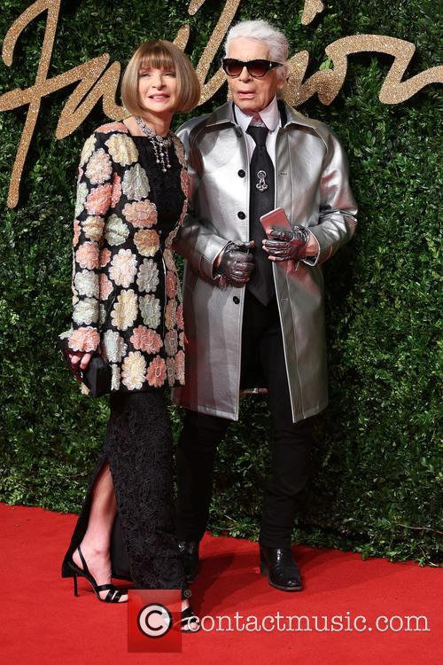 Anna Wintour and Karl Lagerfeld 2