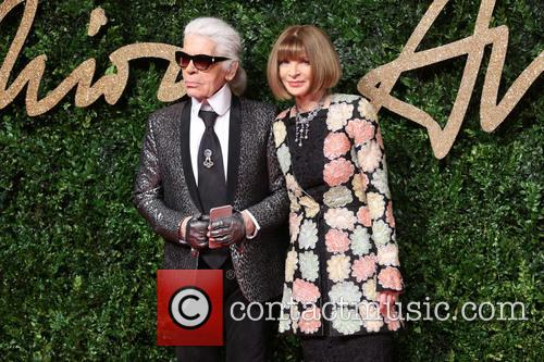 Anna Wintour and Karl Lagerfeld 8