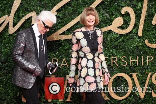 Anna Wintour and Karl Lagerfeld 9