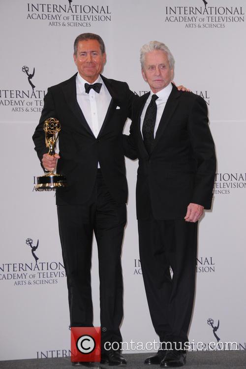 Richard Plepler and Michael Douglas 3