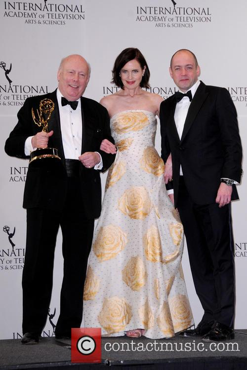 Julian Fellowes and Elizabeth Mcgovern 2