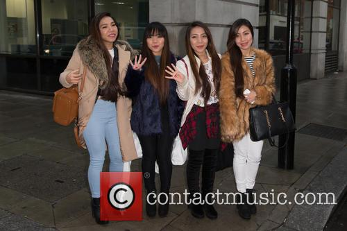 4th Impact, Mylene, Irene, Almira and Celina 1