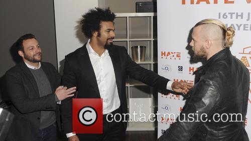 David Haye and Mark De Mori 10
