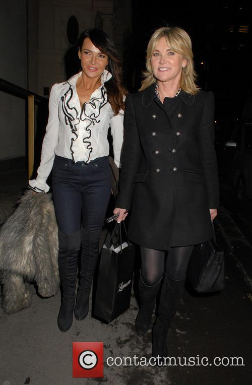 Lizzie Cundy and Anthea Turner 1