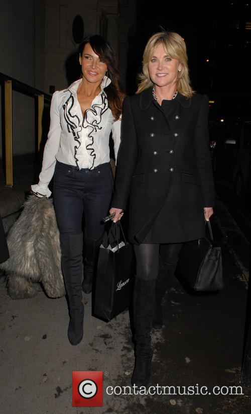 Lizzie Cundy and Anthea Turner 2