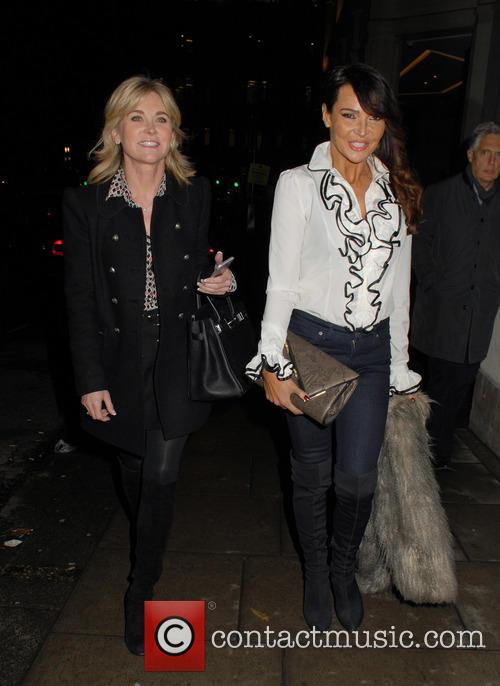 Anthea Turner and Lizzie Cundy 6