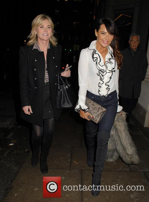 Anthea Turner and Lizzie Cundy 7