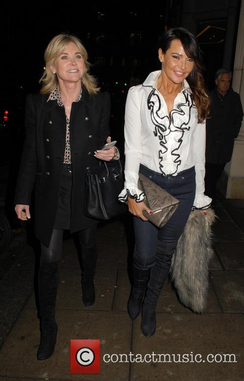 Anthea Turner and Lizzie Cundy 8