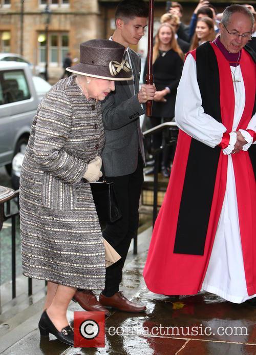 Queen Elizabeth Ii and Justin Welby 9