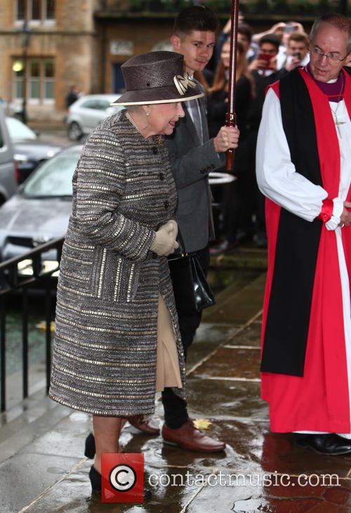 Queen Elizabeth Ii and Justin Welby 10