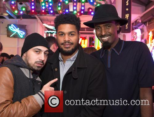 Adam Deacon, Louis Brown and Mason Smiley 1