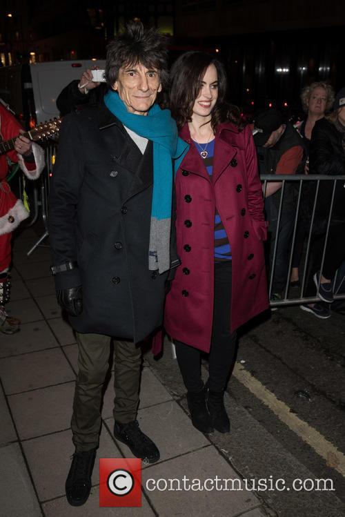 Ronnie Wood and Sally Humphries 3