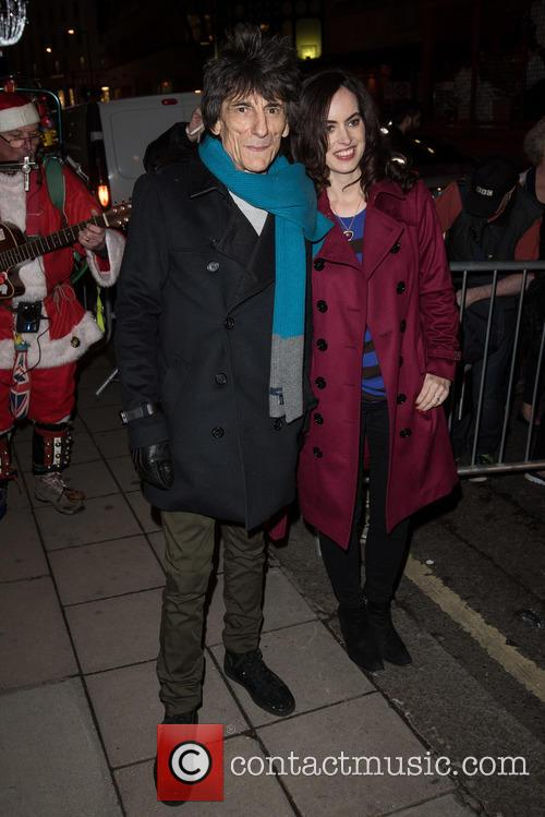 Ronnie Wood and Sally Humphries 4