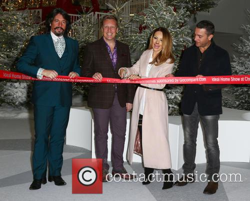 Laurence Llewelyn-bowen, Olly Smith, Katie Piper and Gino D'acampo 2