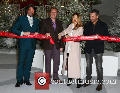 Laurence Llewelyn-bowen, Olly Smith, Katie Piper and Gino D'acampo 3