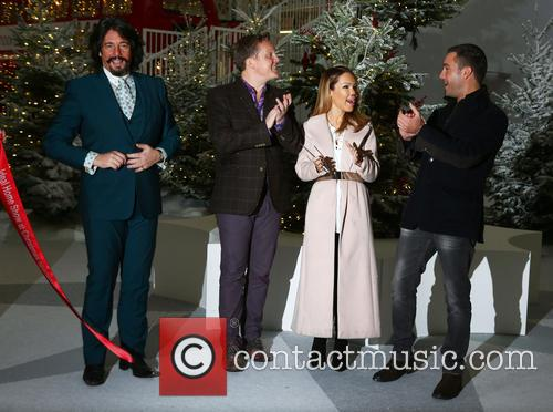 Laurence Llewelyn-bowen, Olly Smith, Katie Piper and Gino D'acampo 4