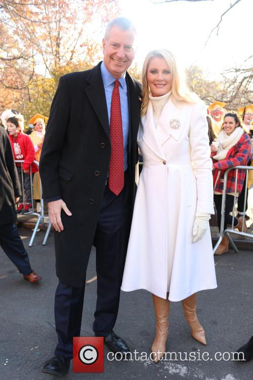 Bill De Blasio and Sandra Lee 1